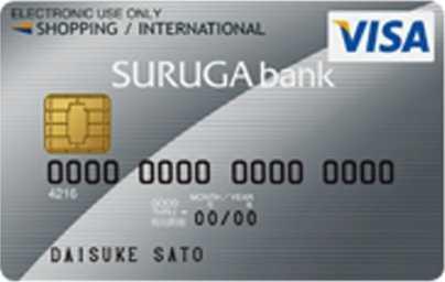 SURUGA Visaデビットカード券面画像